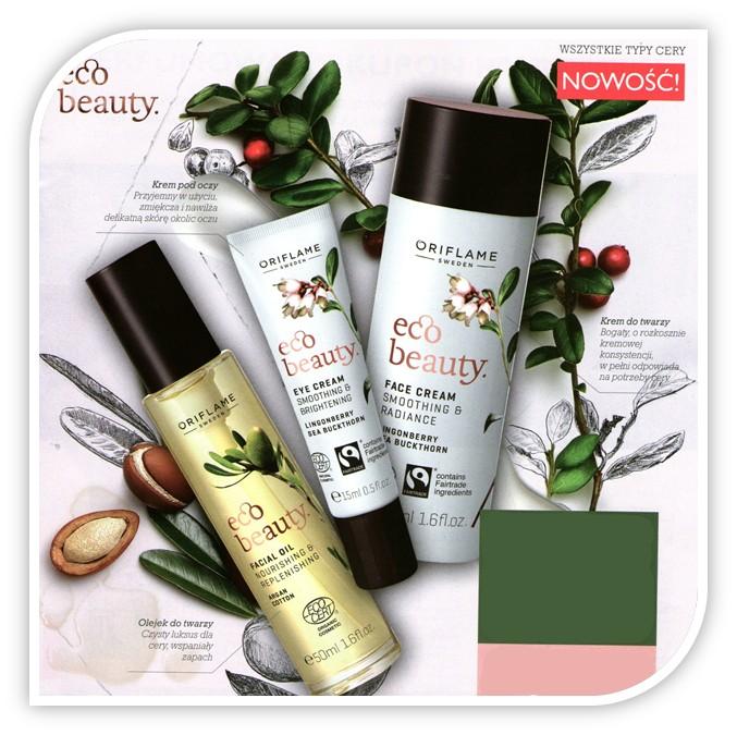 Naturalne kosmetyki do pielęgnacji cery Oriflame Ecobeauty